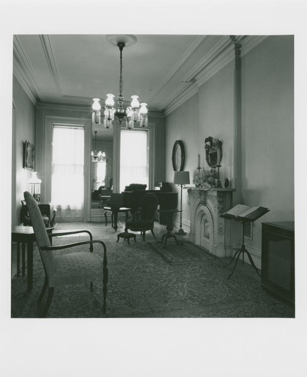 Home of Mrs. Betty Brown. 298 Washington Ave., Clinton Hill, Brooklyn. April 2, 1978.