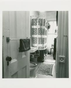 Home of Ted & Ronnie Johnson. 151 Willoughby Ave., Clinton Hill, Brooklyn. April 11, 1978.