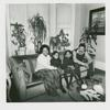 Ed & Ola Hightower & daughters. 134 Maple St., Flatbush, Brooklyn. February 19, 1978.
