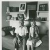 Julius & Sally Meizels. Turner Tower, 8H. 135 Eastern Parkway, Prospect Heights, Brooklyn. June 20, 1978.