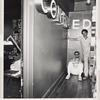 Joe Roifer & friend. Apt. 9E, Turner Tower. 135 Eastern Parkway, Prospect Heights, Brooklyn. June 20, 1978.