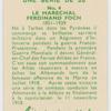Le Marchal Ferdinand Foch.