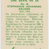 Stephaus Johannes Kruger.