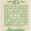 Leonard de Vinci.