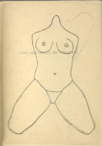[A headless woman.]