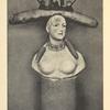 Retrospective bust of a woman.