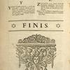 [Tail-piece of curling vegetal shapes, winged head, for last page of indice de los terminos.]