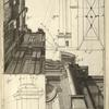 Lam. 10. [Diagram of proportions and perspective of columns as seen from below.]