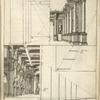 Lam. 13. [Diagram of proportions and perspective of architectural elements.]