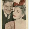 "Marie Wilson and Johnny Davis in ""Sweepstakes winner."""