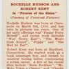 """Rochelle Hudson and Robert Kent in """"Pirates of the skies."""""""