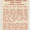 "Margaret Lindsay and John Payne in ""Garden of the moon."""