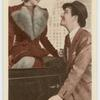 """Myrna Loy and Robert Taylor in """"Lucky night."""""""