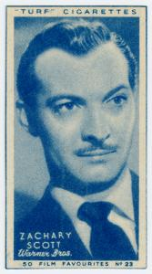 Zachary Scott.