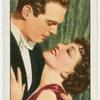 "Fred McMurray and Claudette Colbert in ""The gilded lily."""
