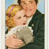 """Joan Bennett and Francis Lederer in """"The pursuit of happiness."""""""