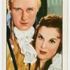 "Anthony Bushell and Joan Gardner in ""The Scarlet Pimpernel."""