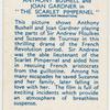 "Anthony Bushell and Joan Gardner in ""The Scarlet Pimpernel."""