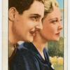 """Madeleine Carroll and Robert Donat in """"The thirty-nine steps."""""""