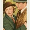 """Josephine Hutchinson and George Brent in """"The sacred flame."""""""