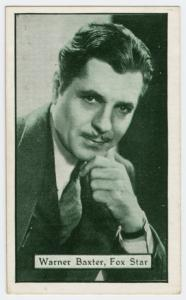Warner Baxter, Fox star.