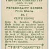 Clive Brook, Fox star.