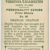 Charlie Chaplin, United Artists star.