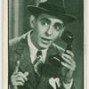 Eddie Cantor, United Artists star.