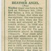 Heather Angel.
