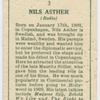 Nils Asther.