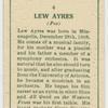 Lew Ayres.