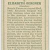 Elisabeth Bergner.