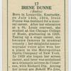 Irene Dunne.