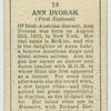Ann Dvorak.