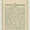 Douglas Fairbanks.