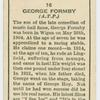George Formby.