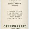 Claire Trevor.