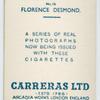 Florence Desmond.