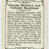 Charles Bickford and Tallulah Bankhead.