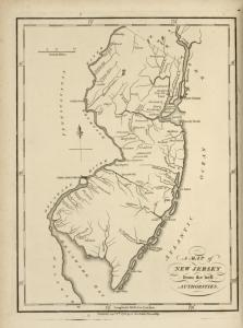 A map of New Jersey, from the best authorities.