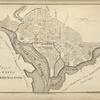 Plan of the city of Washington.