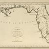 A map of the East and West Florida.