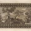[Mosaic depicting animals in a landscape.]