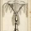 [Fountain with large central circular spout.