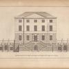 Elevation of a house built on Clifton-hill near Bristol: the feat of Paul Fisher, Esq.]