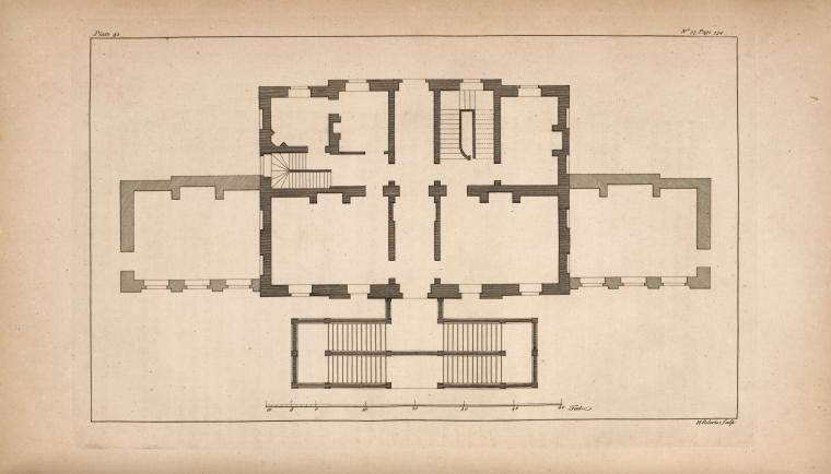 [Plan of a house.]