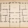 Plan of a house built at New Milns in Scotland, the feat of Francis Charteris, Esq.]
