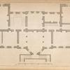 Plan of a design for a person of distinction in the county of York.]