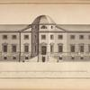 Elevation of a design for a person of distinction in the county of York.]