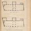 Plans of the town hall at Oxford.